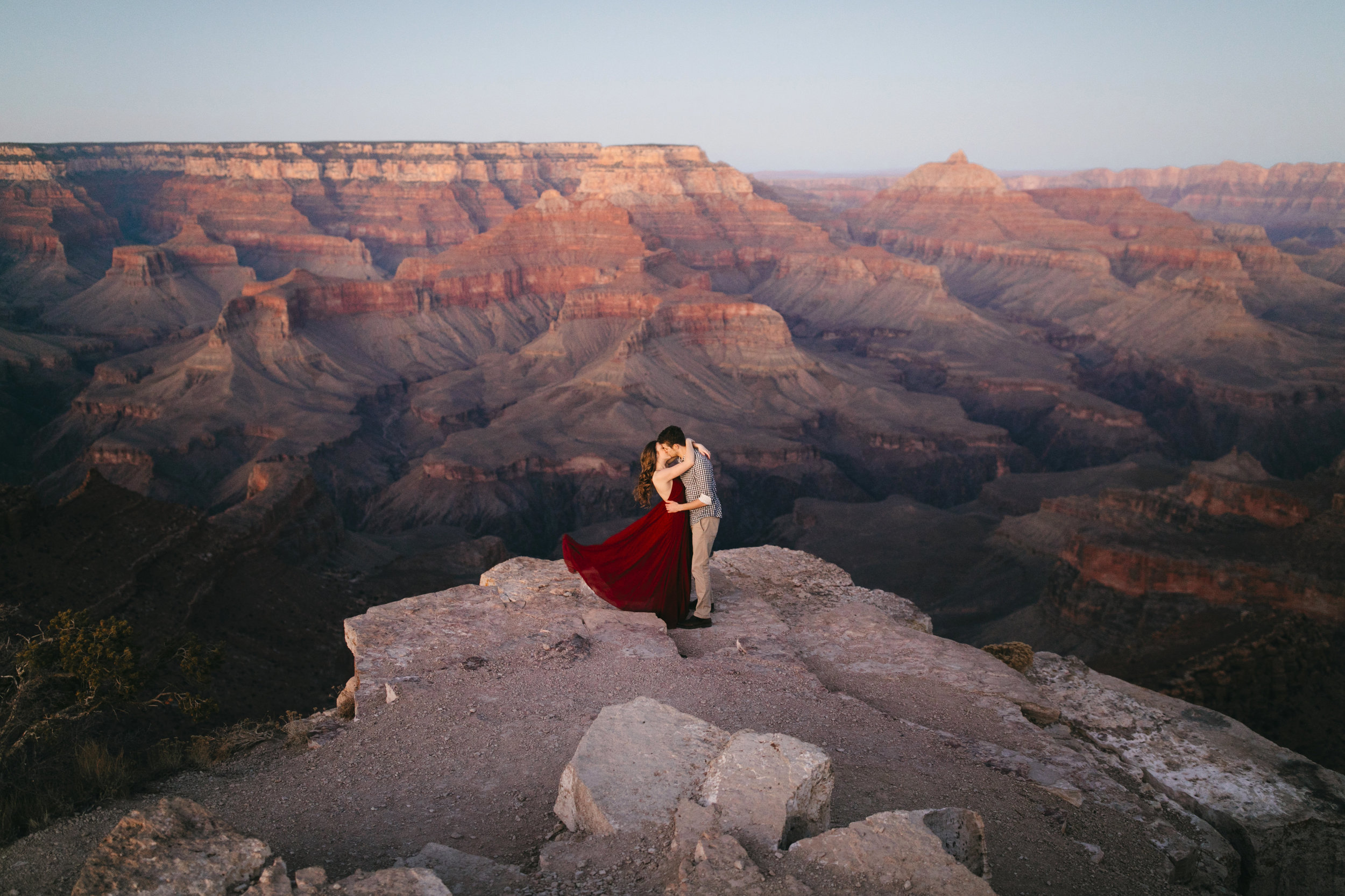 Grand Canyon NP, Arizona  Adventure Engagement Photographer