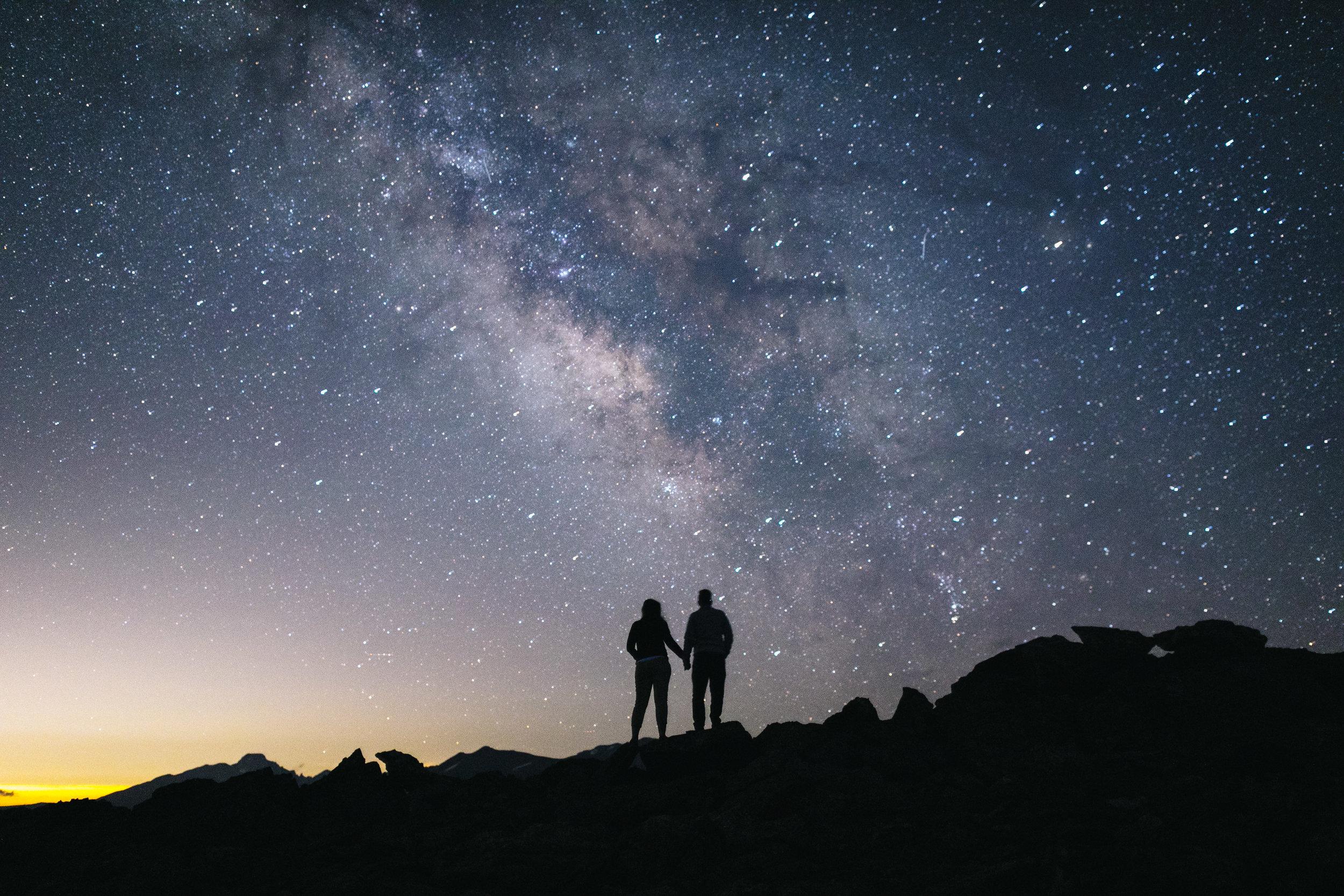 Rocky Mountain NP, CO  Adventure Engagement Photographer