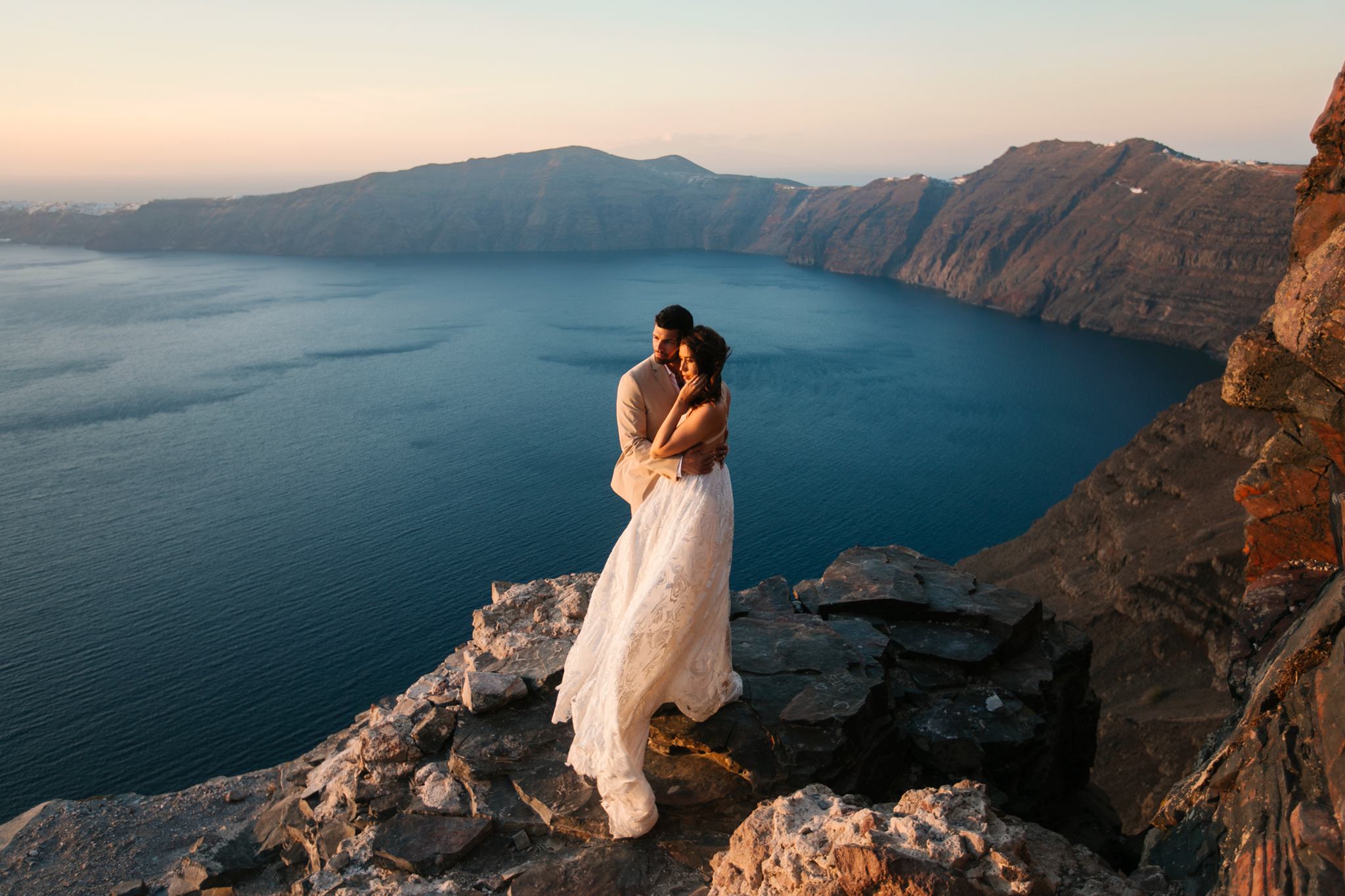 Santorini, Greece   Adventure Wedding Photographer