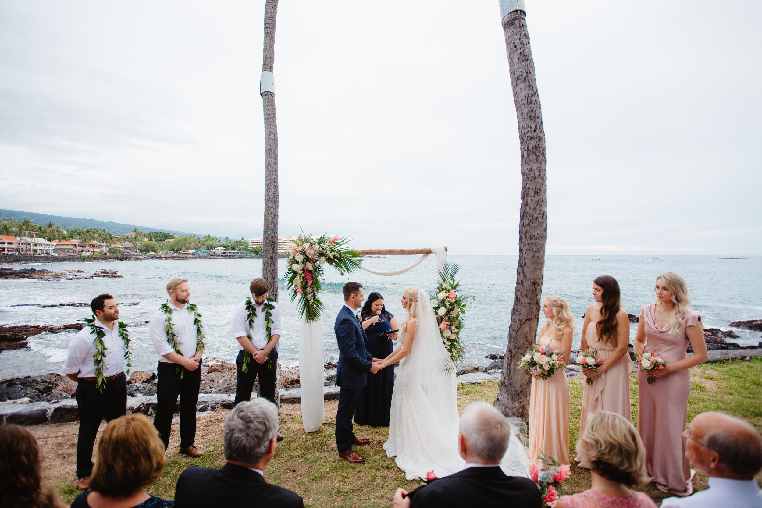 Kailua-Kona, Hawaii  Destination Wedding Photographer