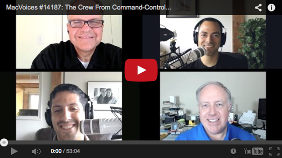 Command Control Power on MacVoices