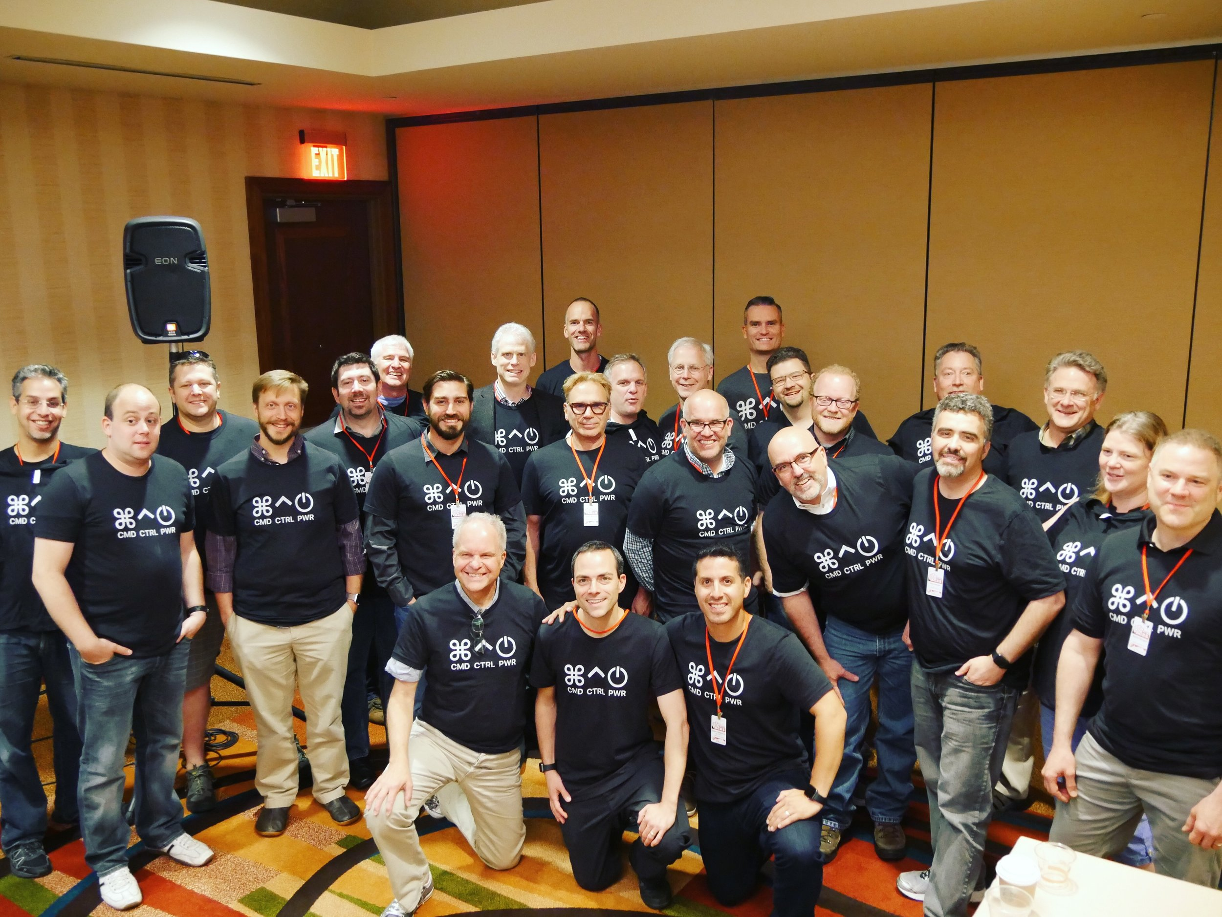 CCP Crew & Patreon Sponsors Sport Their t-SHirts AT ACES Conference 2017