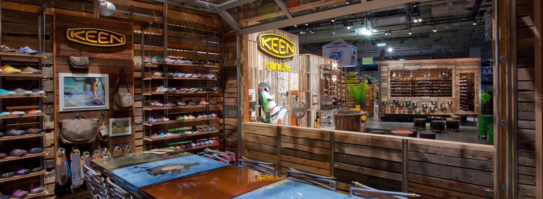 KEEN Trade Show Environment