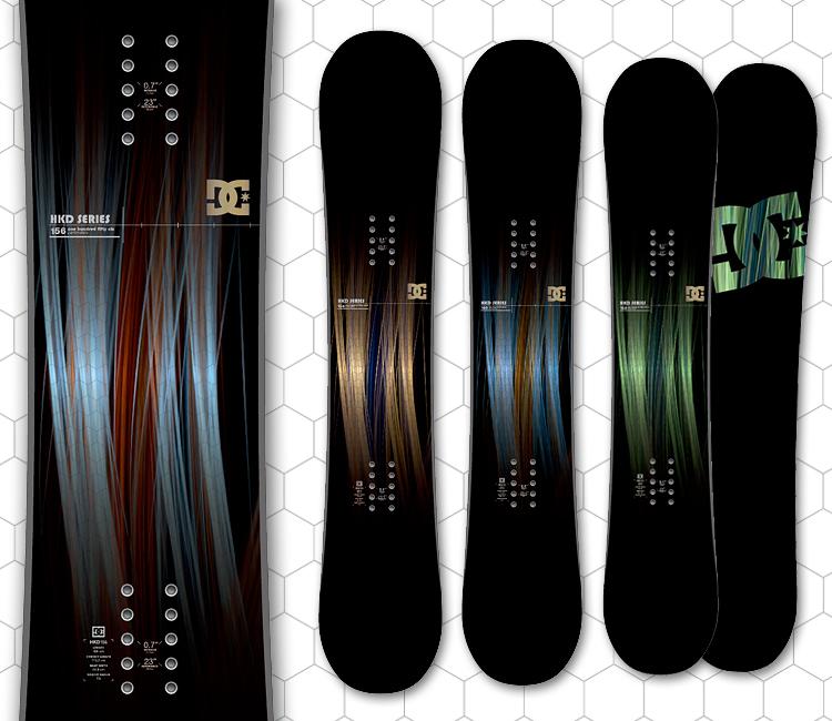 DC Snowboard Graphics
