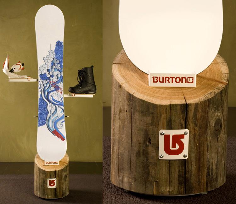 Burton Product Display