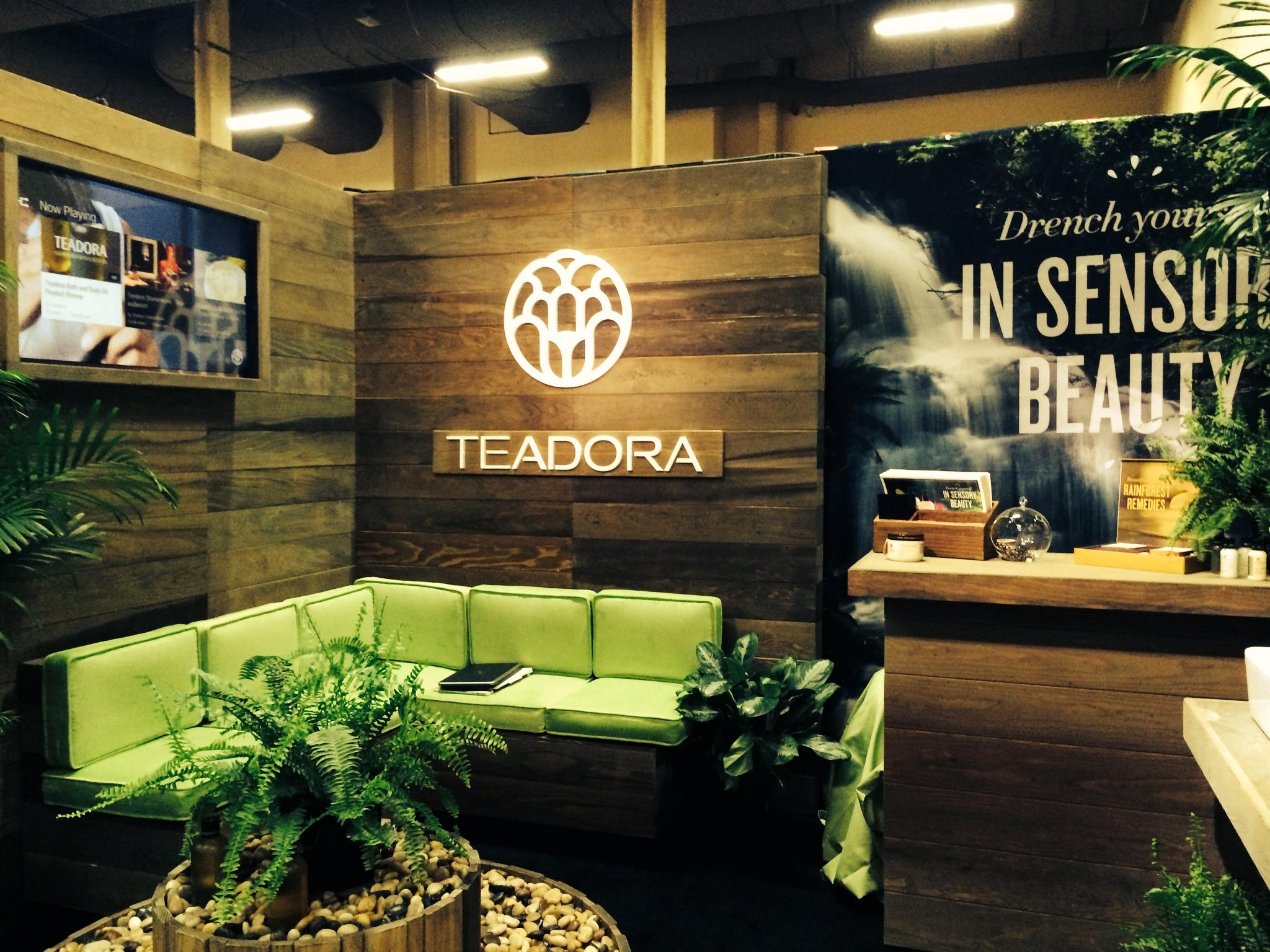 Teadora Trade Show Booth 1