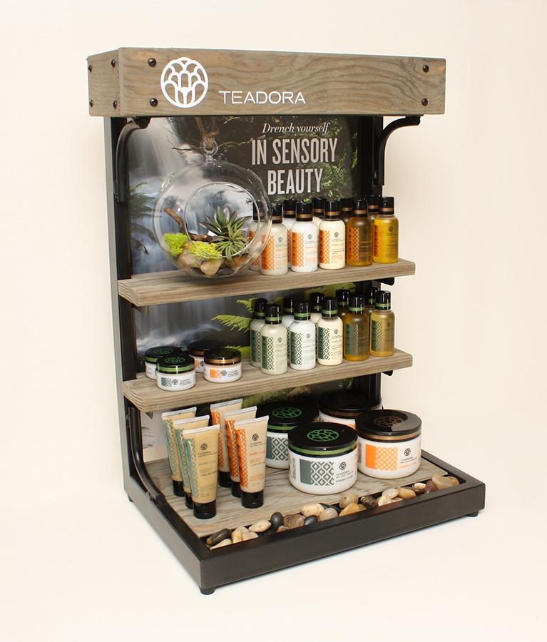 Teadora Retail Display Single