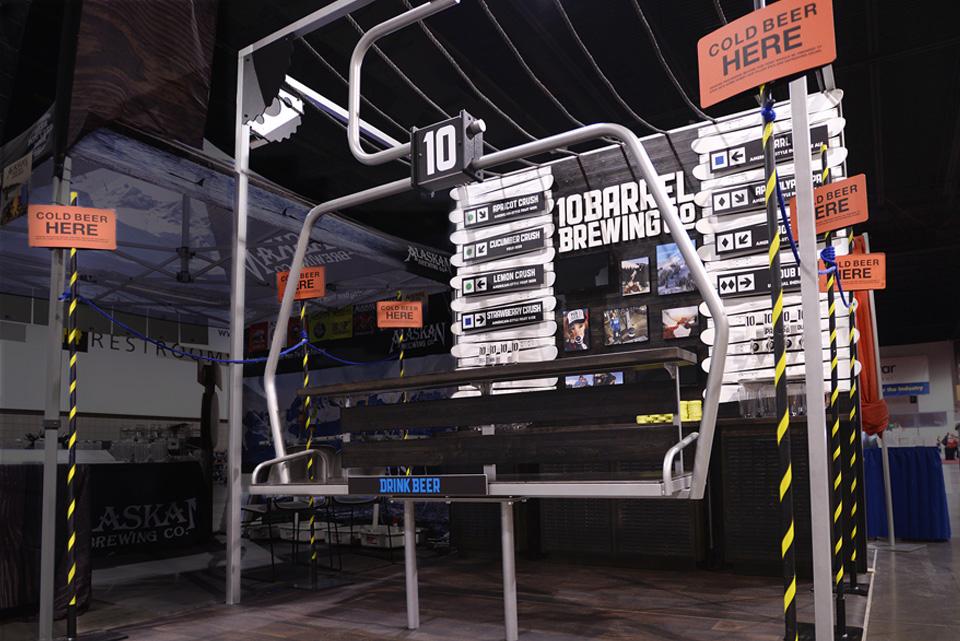10 Barrel Brewing CO. Trade Show Environment
