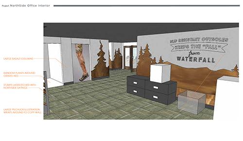 Northside  Environment Design Render 09