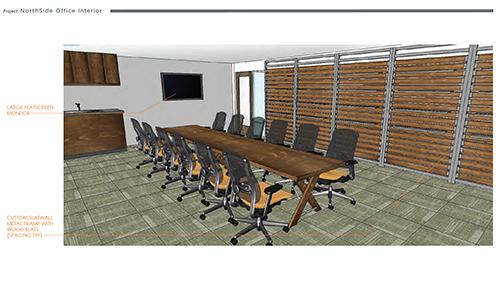 Northside  Environment Design Render 13