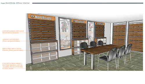 Northside  Environment Design Render 14