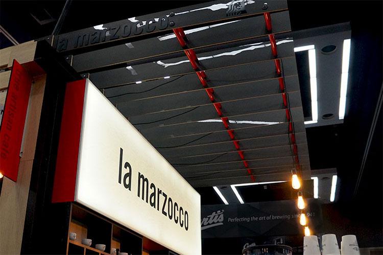 La marzocco trade show environment