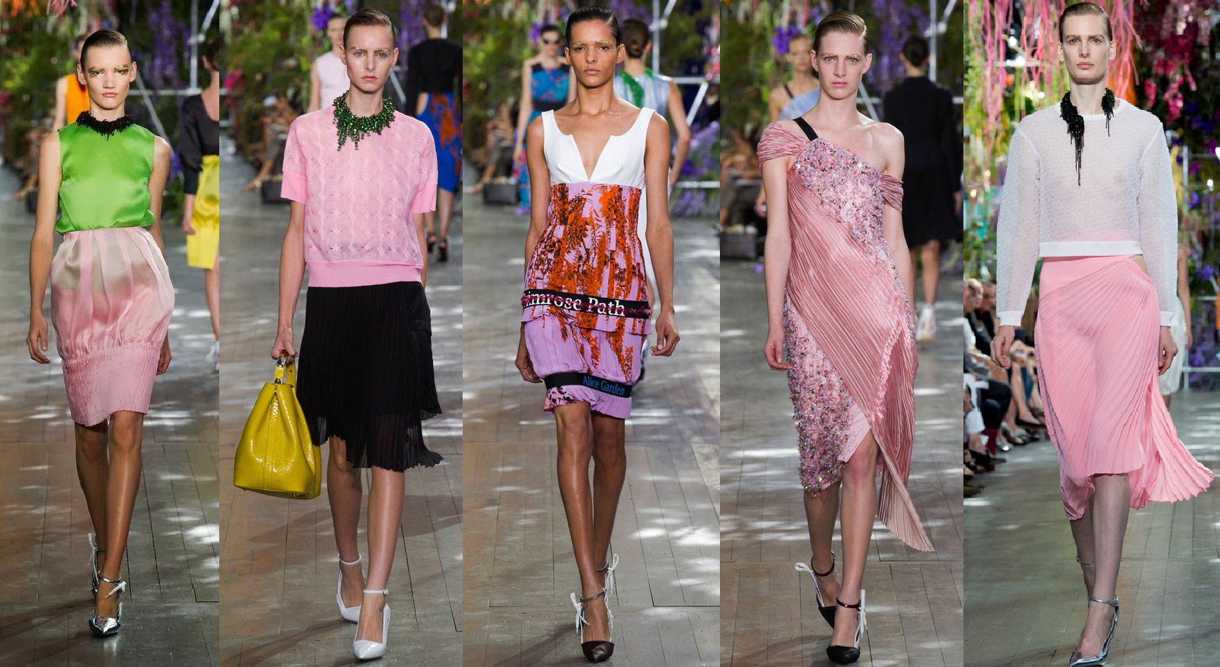 Dior Runway Spring 2014