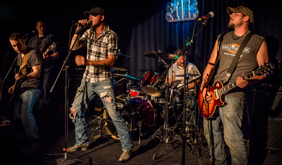 Southern Tyde (from left of frame): John Murphy, Josh Willis, Hank Miller, Rob Rowe, Rich Rowe