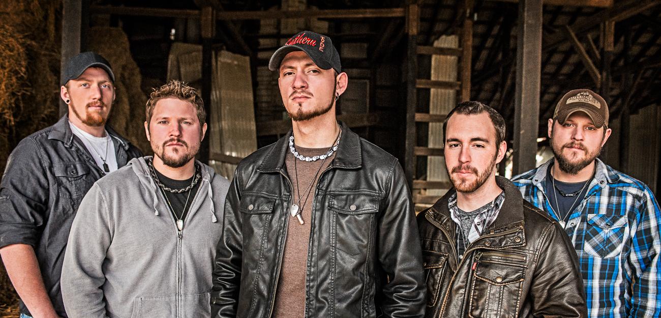Southern Tyde (From Left): Josh Willis, Rob Rowe, Hank Miller, John Murphy, and Rich Rowe