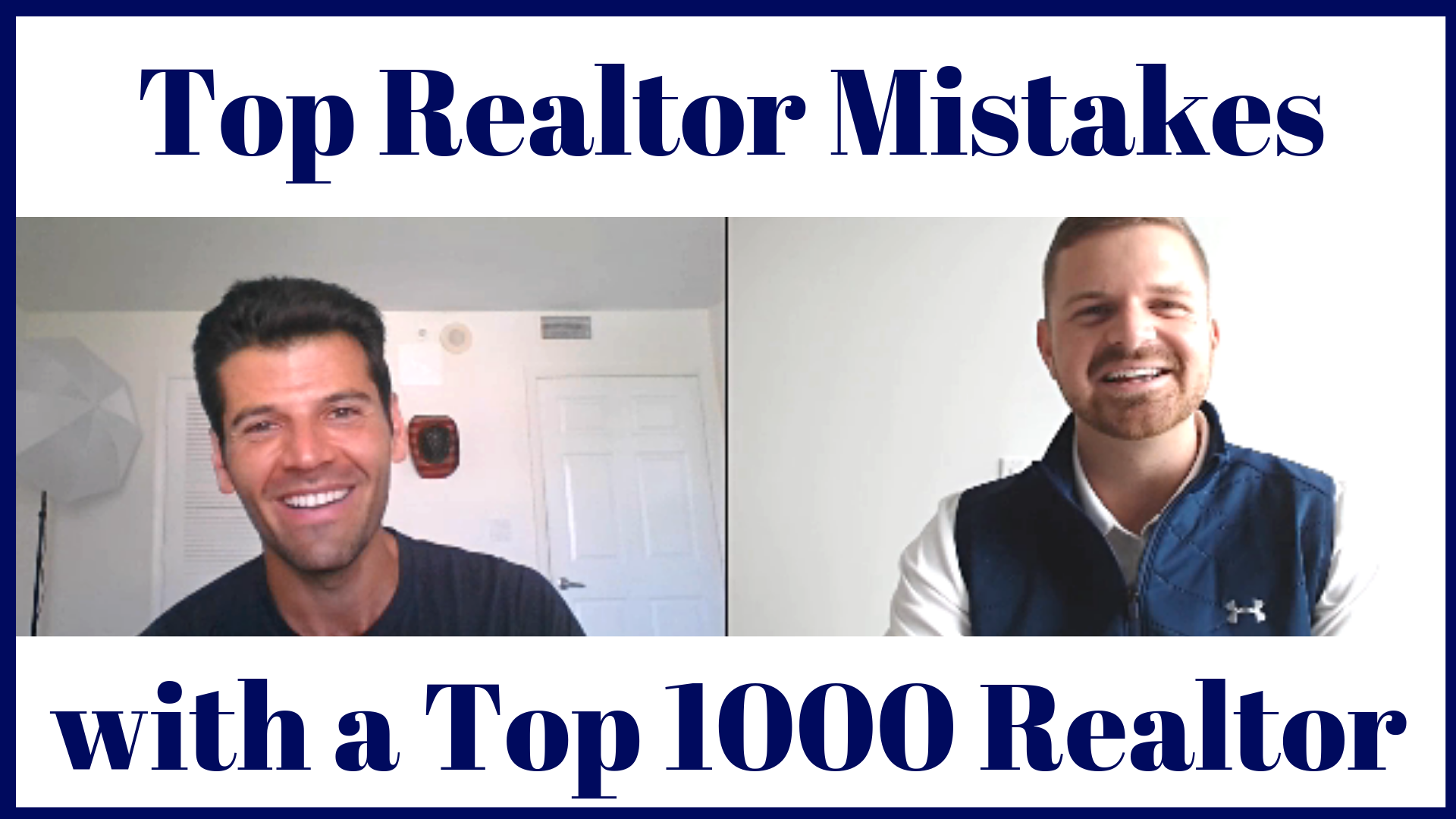 A fun interview with Top 1000 Realtor in the US,  Jonathan Hawkins , of Huntington Beach, CA.