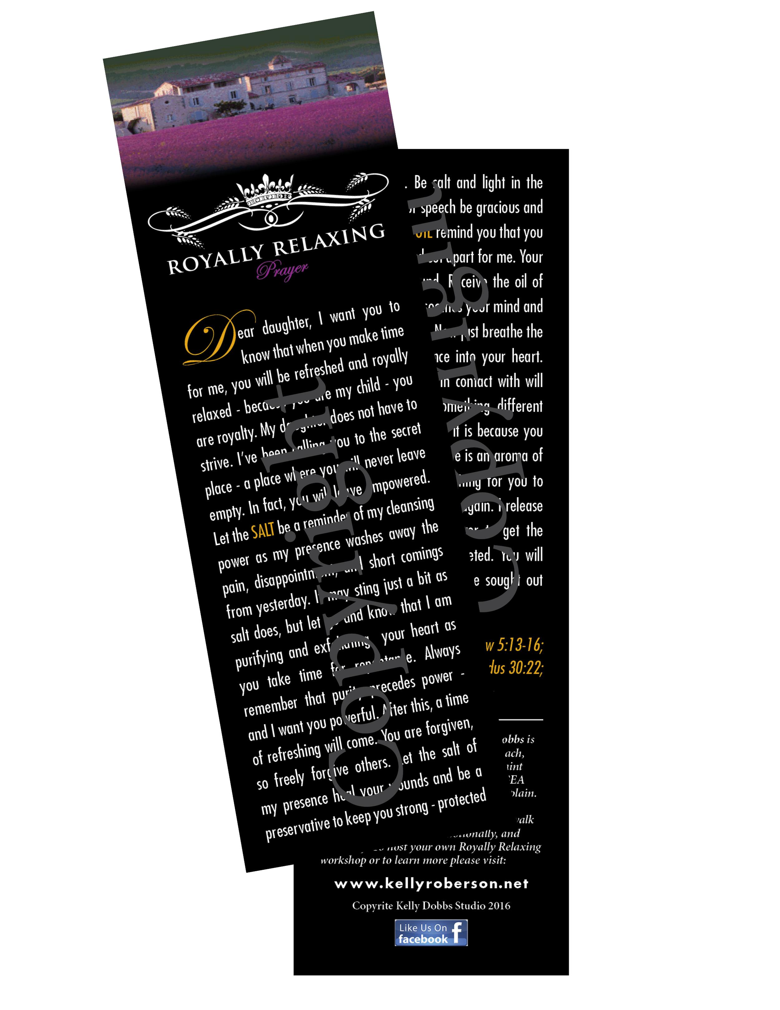 Royally Relaxing Prayer Bookmark.jpg