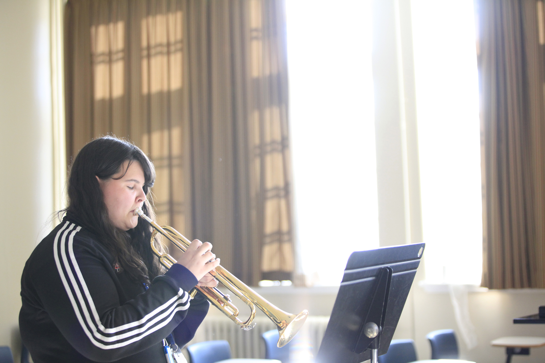 Music class, St. FX University