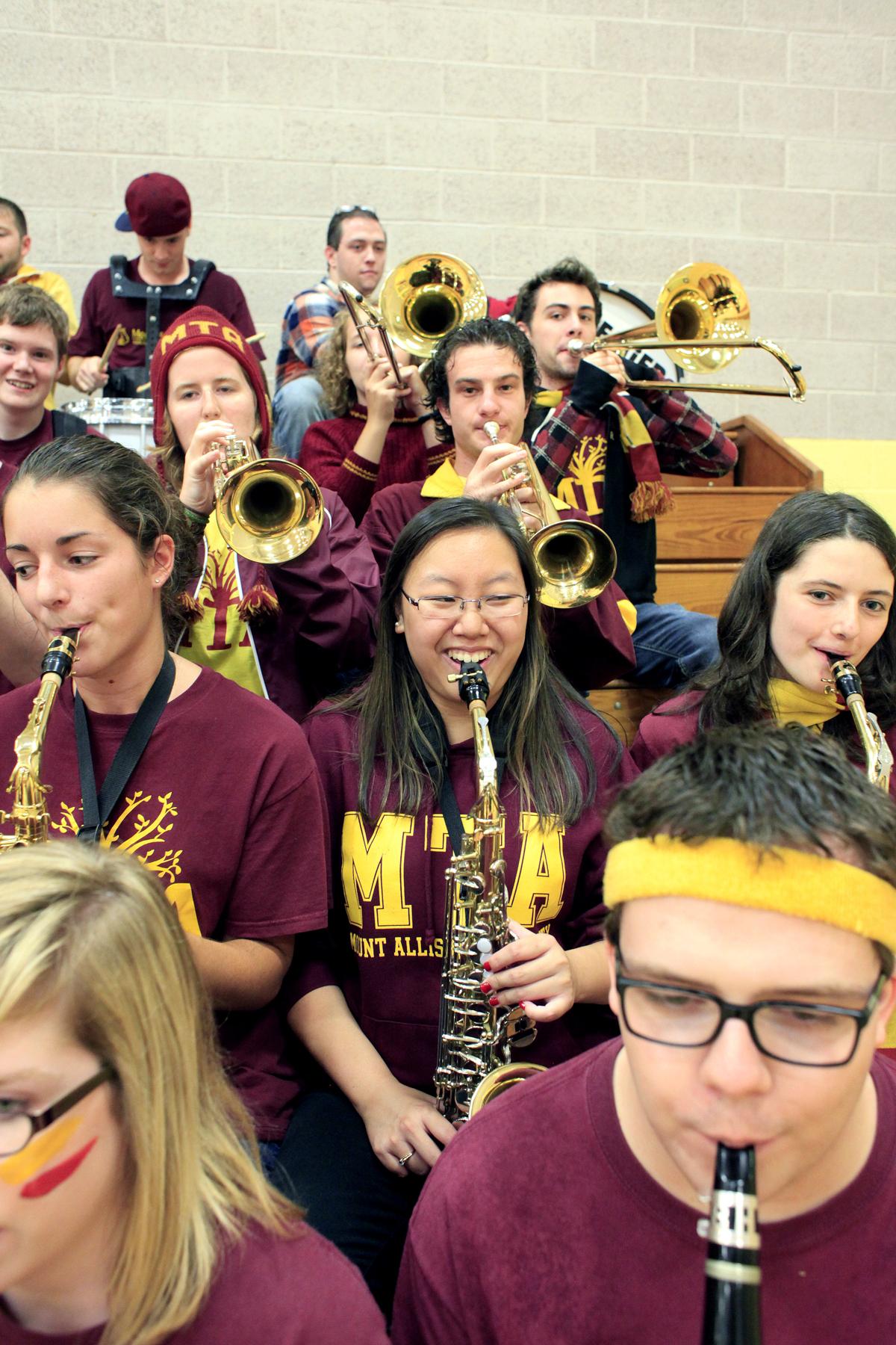 Pep band, Mount Allison University