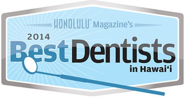 Dr Wade Takenishi has been featured in Honolulu Magazine's 2014 Best Dentists in Hawaii