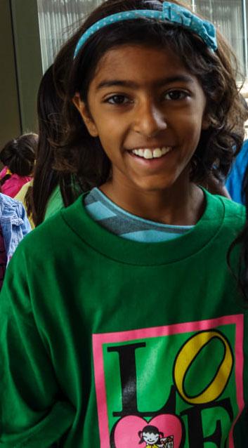 Indira A. Age 9 Yellow Cloud