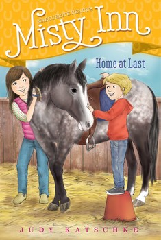 Home at Last - Ben decides he wants his own pony in this eighth book of a chapter book series inspired by Marguerite Henry's Misty of Chincoteague.Even though Ben is allowed to ride and groom his sister's pony, Starbuck, everyone knows Starbuck is really Willa's pony: the two are inseparable, as close as a girl and pony can be. But then the kids discover a wild, renegade pony plucking apples from a tree. Ben names the pony Winesap, but Willa doesn't want her brother to grow too attached, as she's sure they'll find his original owners and Ben will be heartbroken when he's returned. But it's too late, and just like that, Ben and Winesap become the best of friends. Will Ben finally get to have a pony of his own?