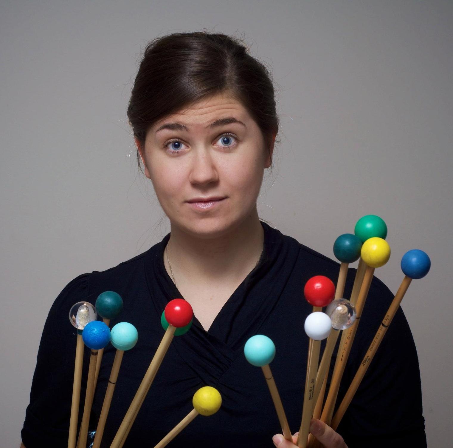 Amy Garapic — percussion