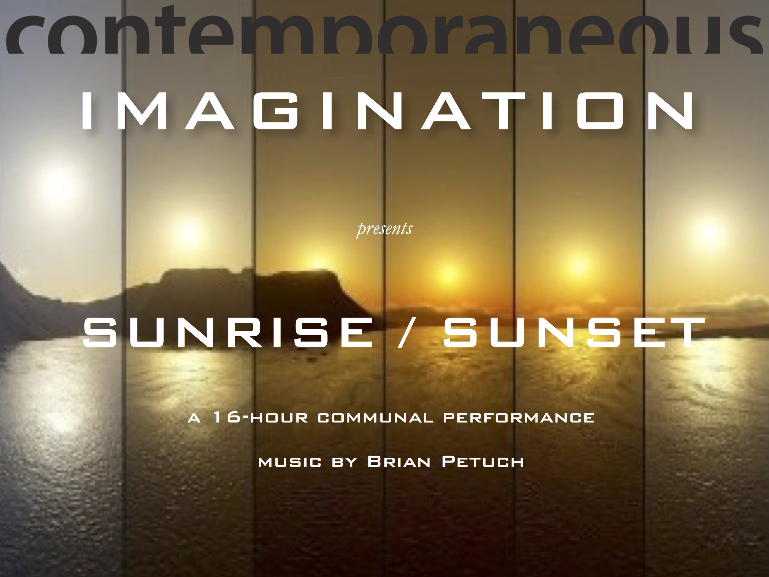 Sunrise : Sunset poster.jpg