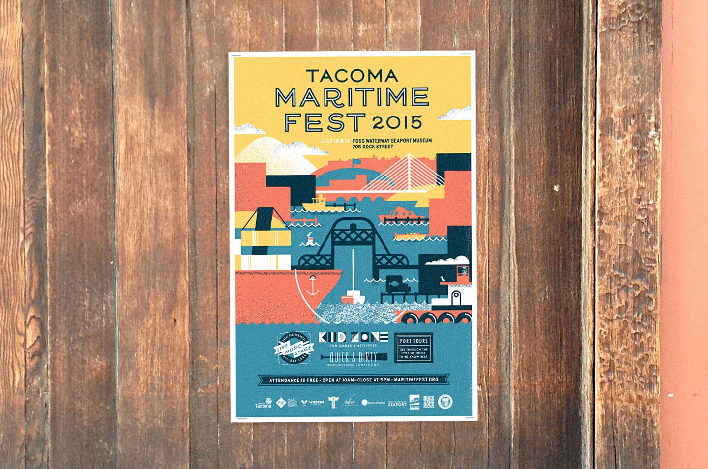 poster for Maritime Fest 2015