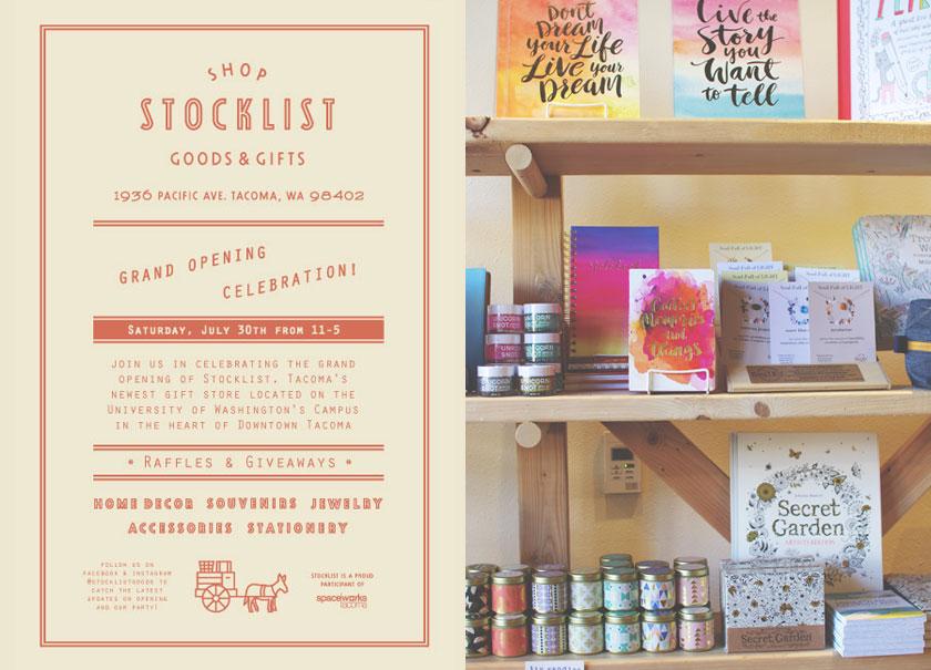 Stocklist Goods & Gifts branding
