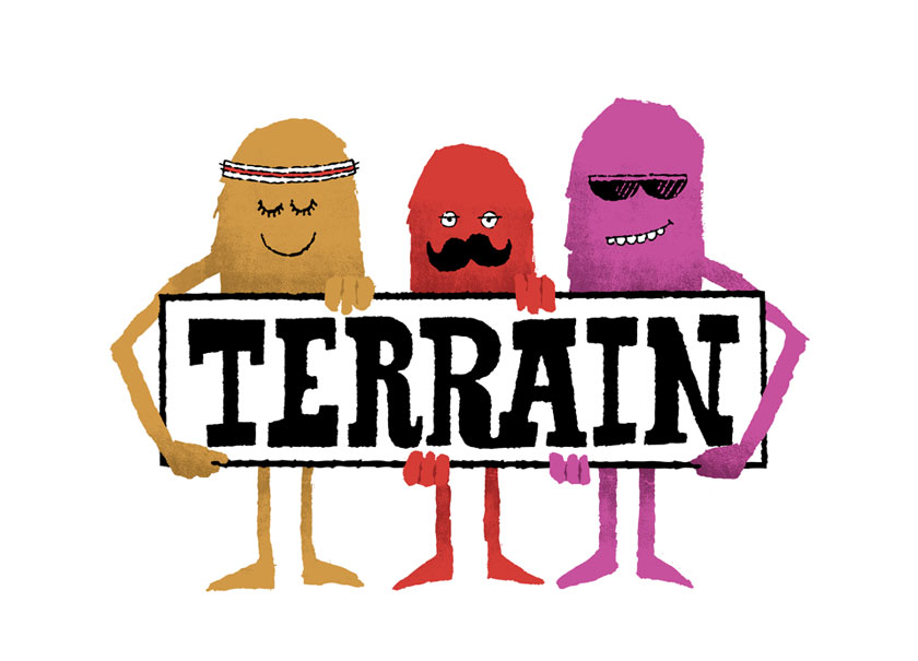 Terrain logo & branding
