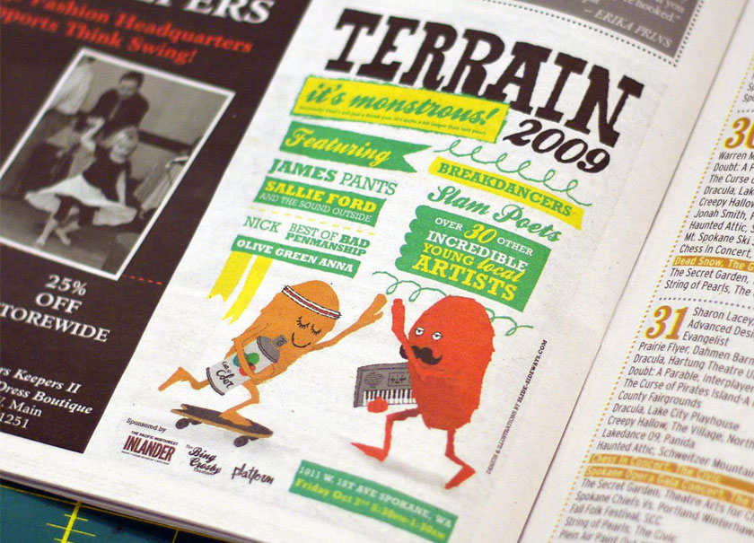 Trerrain promotional ad