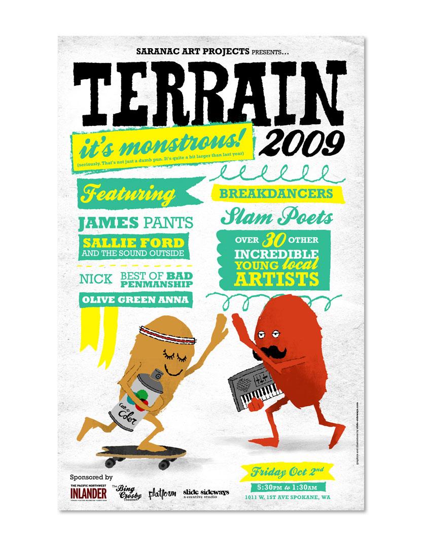 Terrain promotional poster