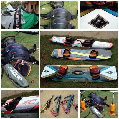 KITEBOARDS, HARNESSES & KITE RENTALS IN INDIA