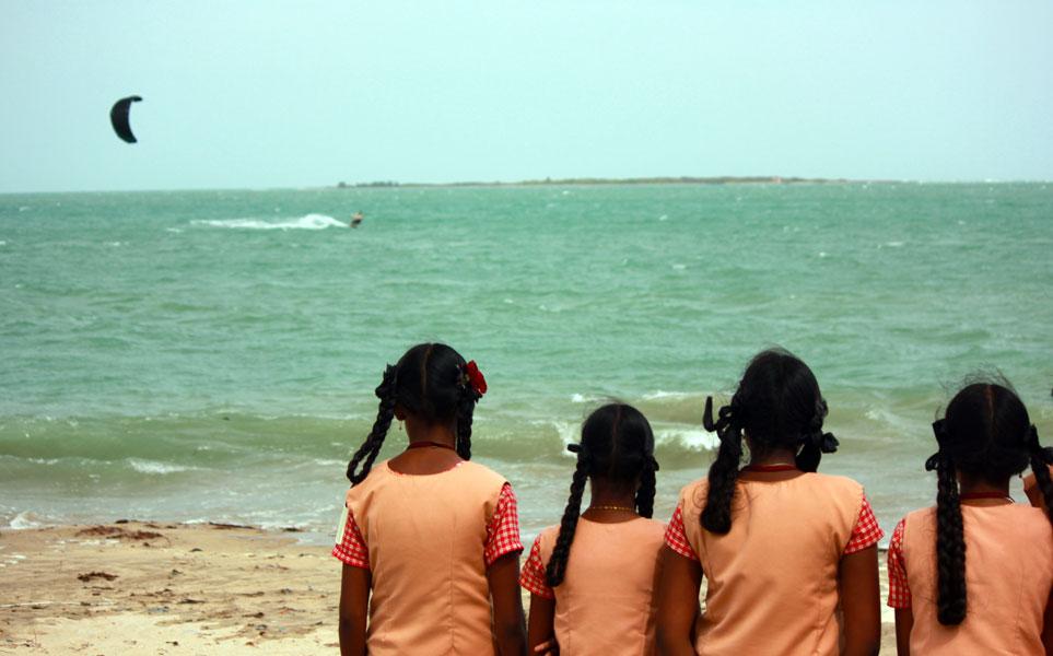 Kitesurfing India for a reason