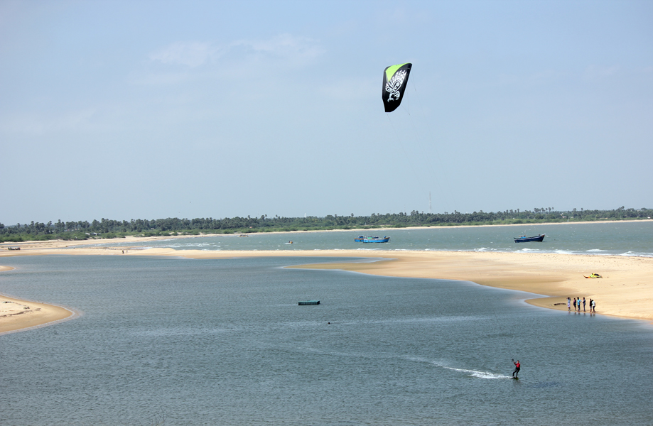 Kitesurfing in India