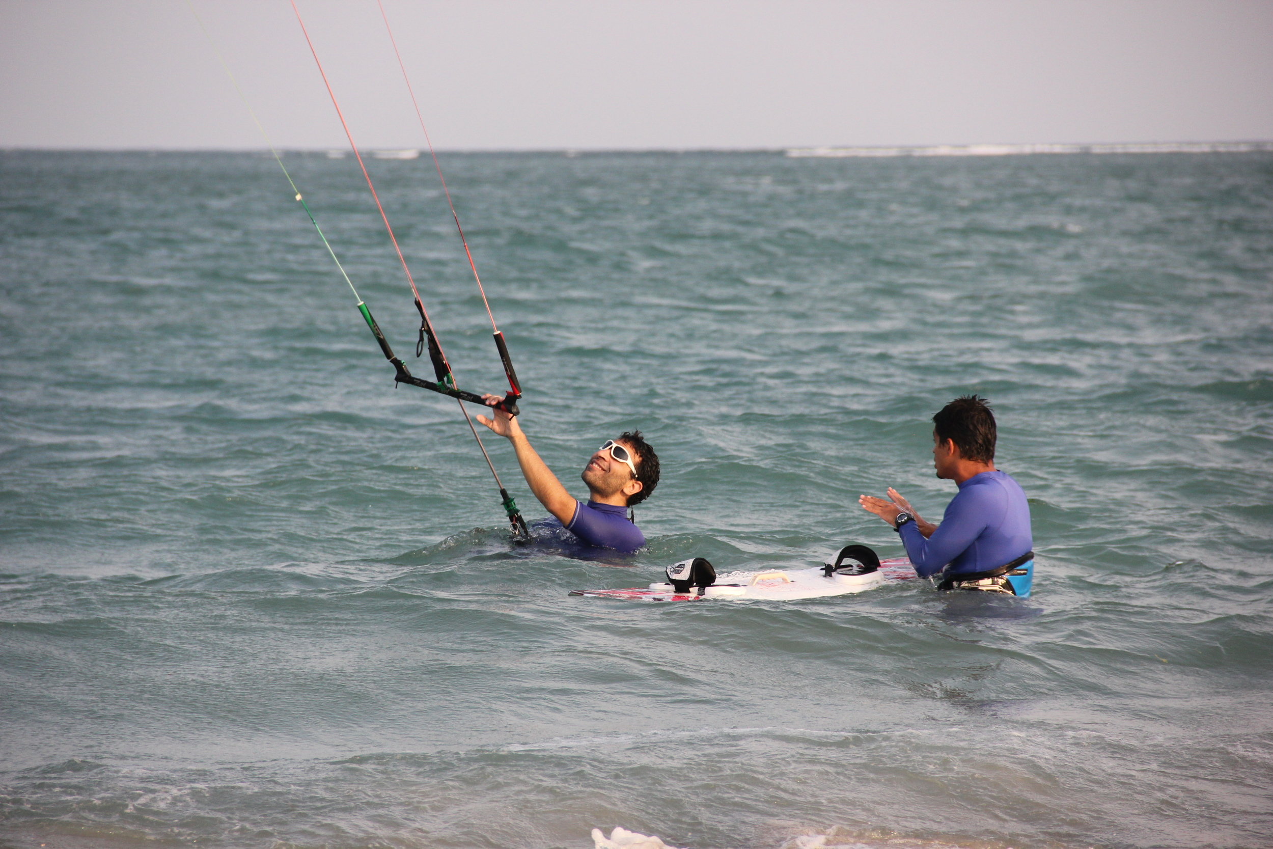 Learn how to perfect your Kiteboarding skills