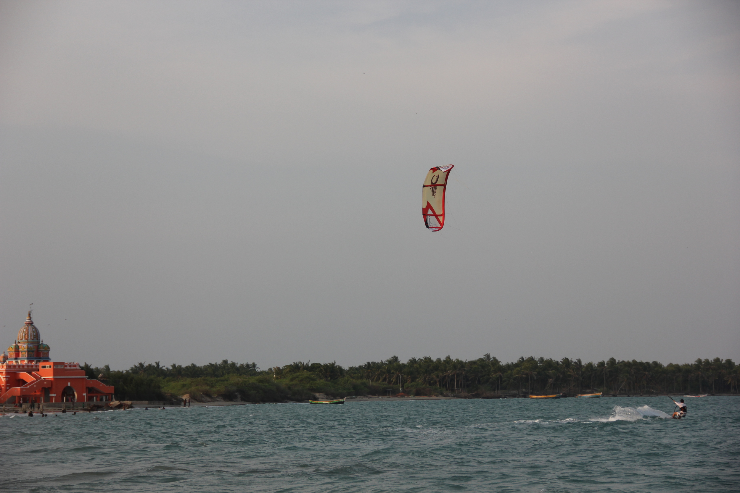 Kiteboarding Holiday close to Bangalore city