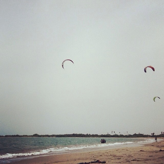 Spots for kitesurfing in india