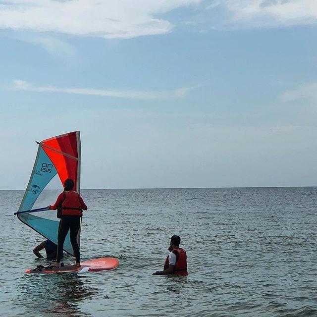 Get certified in #Windsurfing