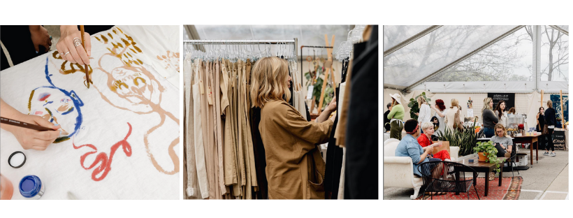 The Elizabeth Suzann Market evolved from the Sample Sale | Photos courtesy of  Elizabeth Suzann