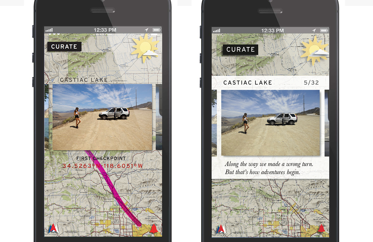 Curate your trip along the way.