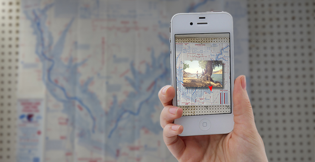 Image recognition lets users attach geo photos to any map.