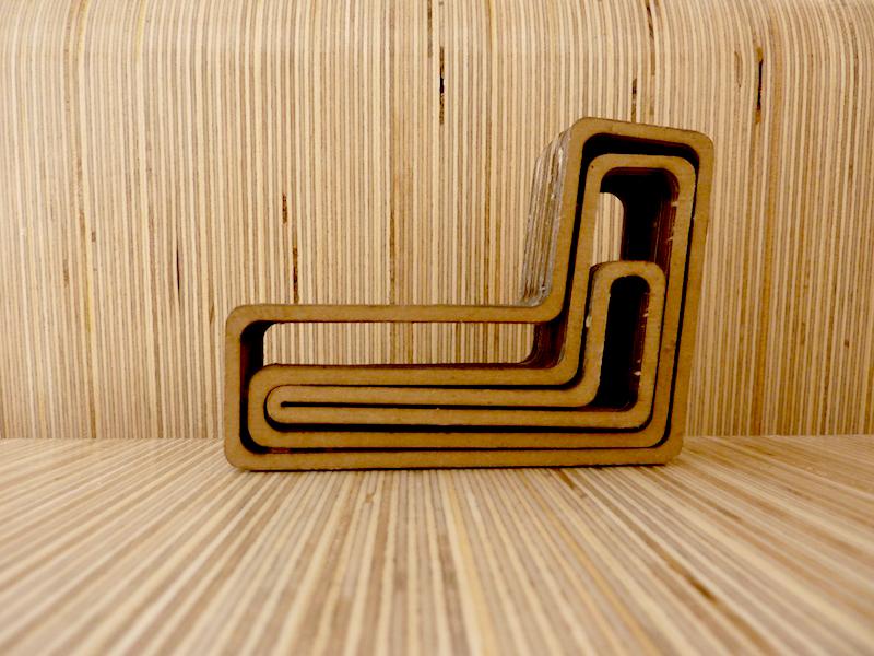 """photo by Junko Yamamoto: 1"""" scale model (model by Jena Meier & Shichong Xie)"""