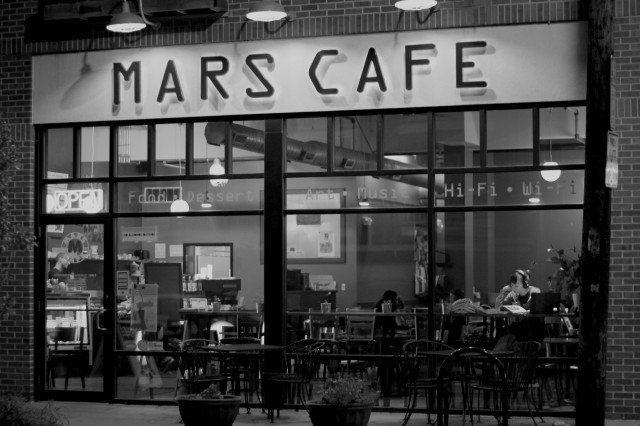(Mars Cafe was opened in March of 2016 by a couple wide eyed James boys and their super supportive spouses)