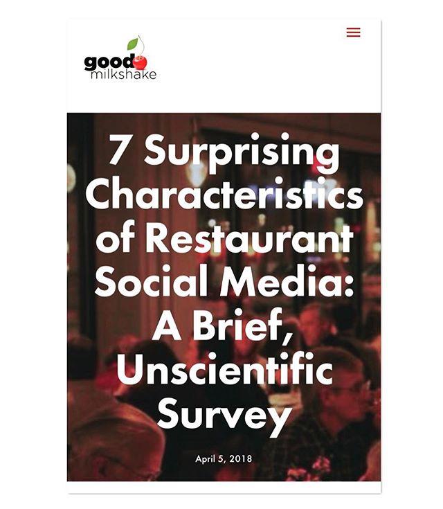 🍒New to the Shakeblog!🍦(Link in bio)... This week, I called on a few dozen restaurant owners and managers this week to talk to them about their digital and social media use. Even though I've worked with dozens of restaurants, they shared some things that frankly shouldn't have shocked me, but did... Here are some unscientific results of those conversations. (go to the bio for the link🍒) . . . .  #marketing #digitalmedia #socialmedia #garyvee #socialmedia #businesstips #entrepreneuradvice #entrepreneuer #entrepreneurship #seo #contentmarketing #sales #online #startups #localbusiness #iowa #desmoines #socialmediamarketer #publicidad #marketingstrategy #emailmarketing #restaurants #restaurantnews #restaurantmarketing #marketing #seo #socialmediamarketer