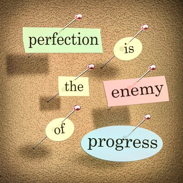 "Perfection is the enemy of progress. . Thanks Winston Churchill. Plenty of versions of this have been said and recycled, but never so succinctly and with such clarity. .  Voltaire: ""The best is the enemy of the good."" Confucius: ""Better a diamond with a flaw than a pebble without."" Shakespeare: ""Striving to better, oft we mar what's well."" . I often coach my clients to keep this in mind when considering posting. Generally speaking, I have them think of one keystone piece of content from which to roll into the next. For me, it's a blog post leading to a video and then a podcast, but the keystone piece of content could begin at any one of these points. Shooting a video rant that leads to a blog post and converted to audio. An audio message/podcast that becomes a blog post and a video. . The message I send to my clients is usually always the same. If it's interesting, educational or entertaining, people will tune in. . Just get it out there and DO. . Don't let perfection get in the way of progress. .  #facebookmarketing #facebookads #digitalmedia #garyvee #socialmedia #businesstips #entrepreneuradvice #entrepreneuer #entrepreneurship #contentmarketing #sales #online #startups #localbusiness #socialmediamarketer #publicidad #marketingstrategy #restaurants #restaurantnews #restaurantmarketing #crushingit #10x #10xgrowthcon #churchill #voltaire #confucius #shakespeare"