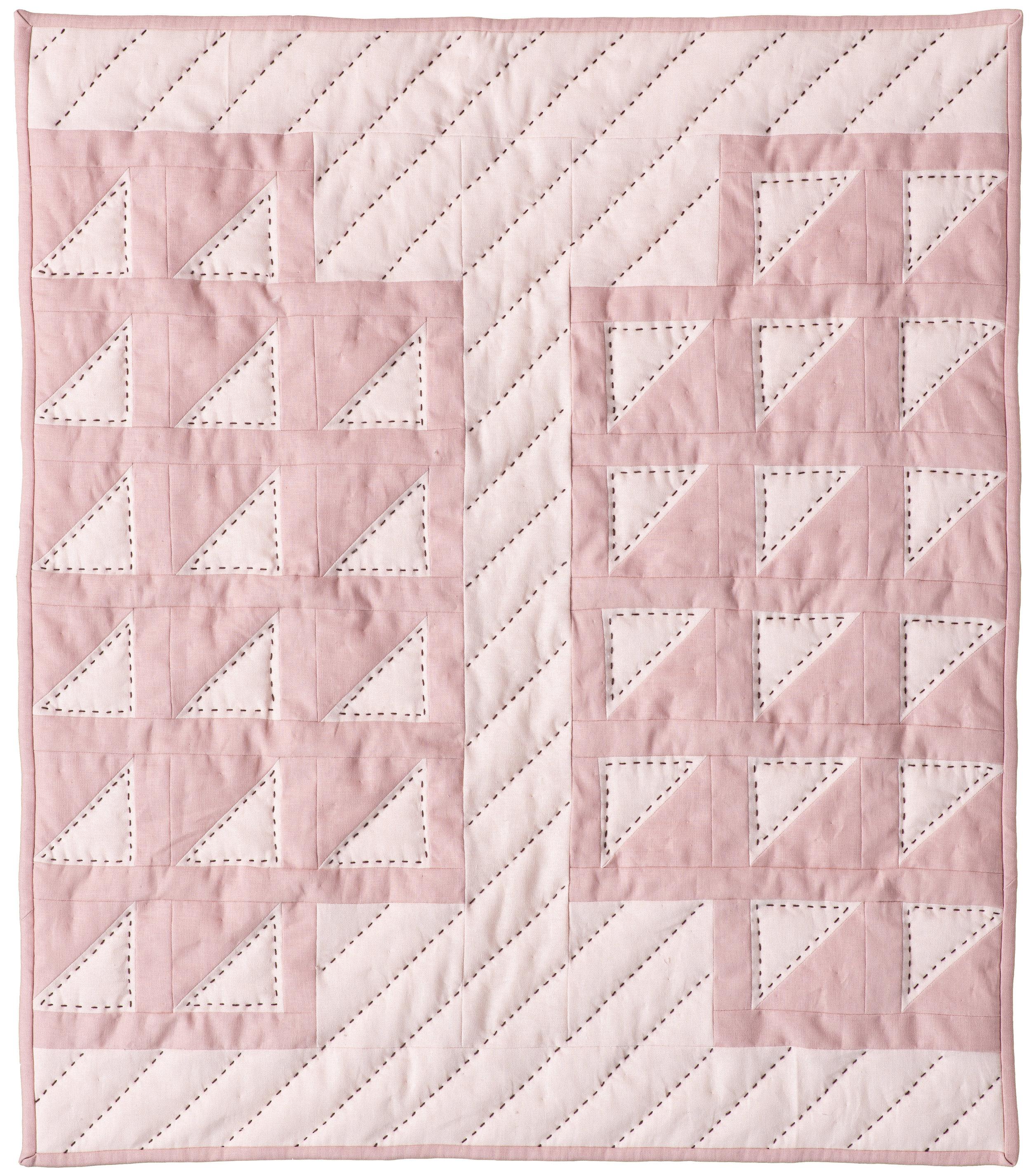 "First Blush – Quilt 1 Crib size, 28"" x 32"""