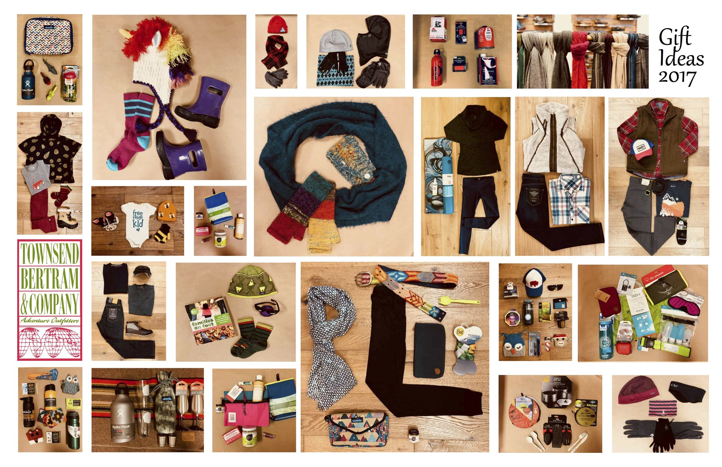 Stop by the store to check out TB&C's gift guide for great ideas for everyone on your list.