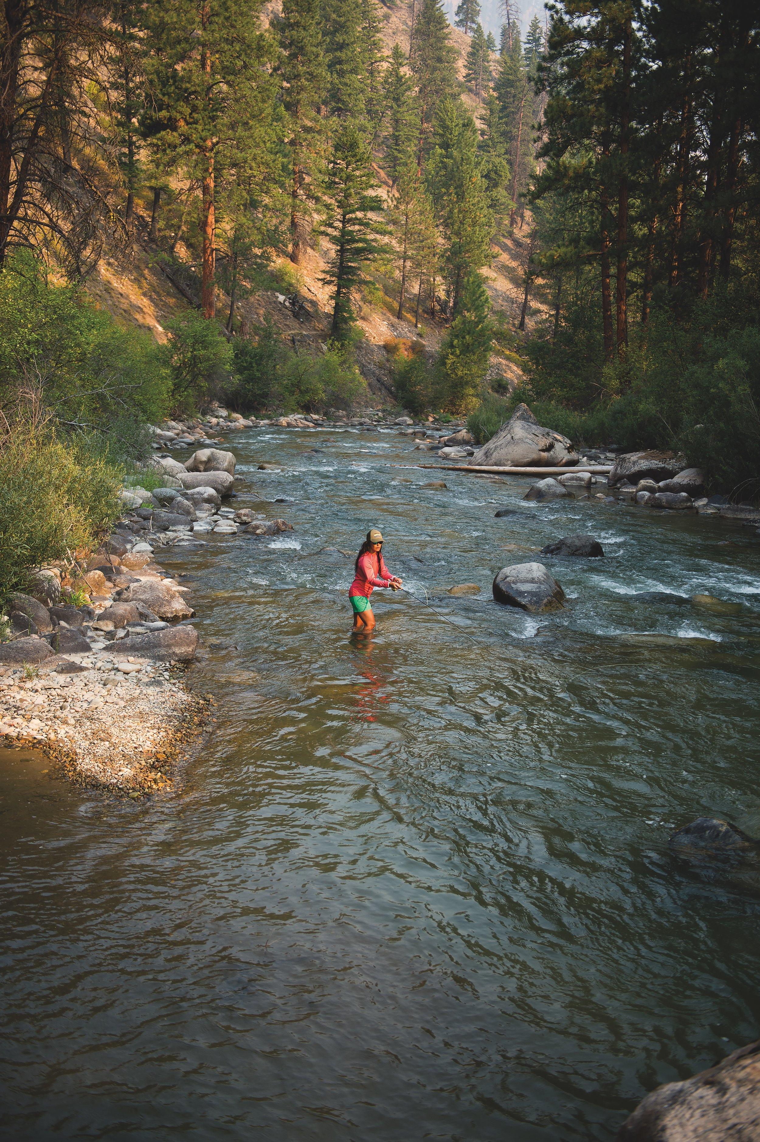 """Hillary Hutchenson, Loon Creek, Idaho""Photo credit to Lee Cohen"